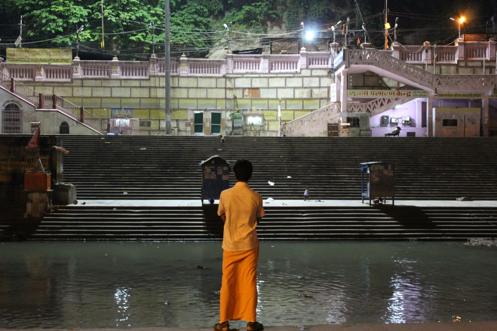 Har ki pauri - The famous ghat on the banks of the Ganges in Haridwar