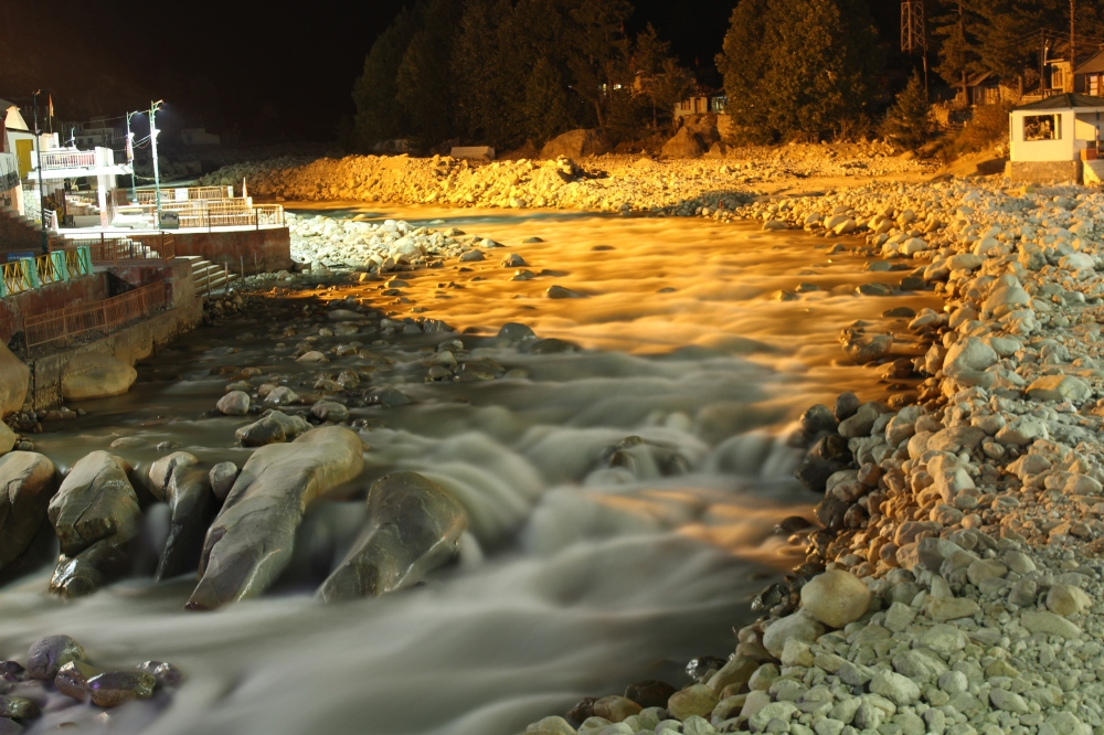 Indian history would have been different without this river. Ganga/Ganges - a view from Gangotri bridge