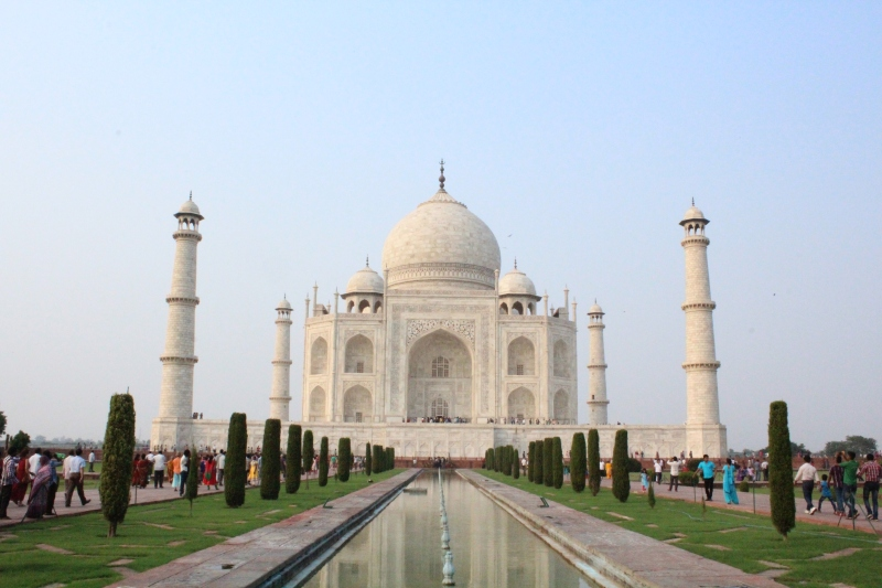 The most beautiful building on the planet! - Taj Mahal, Agra