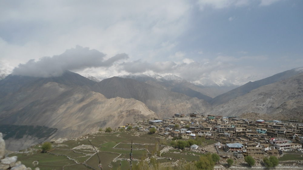 Nako village - a view from top