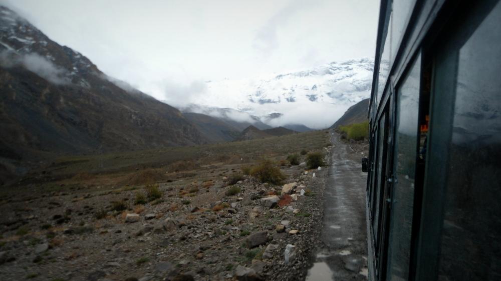 In to the wild - Heading towards Kaza from Tabo