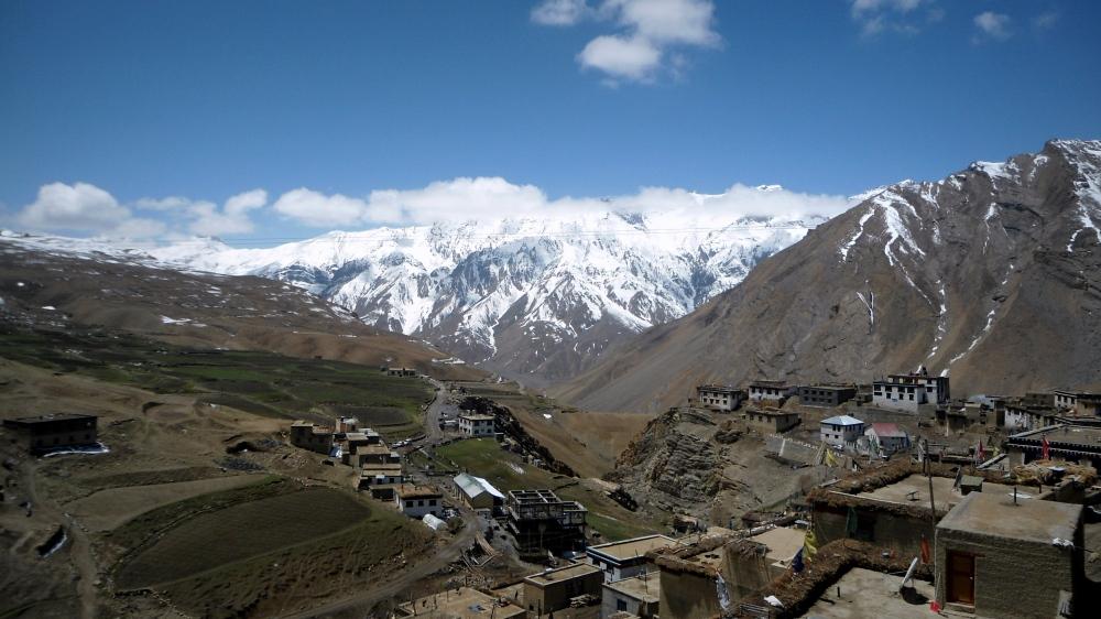 On top of the world - Kibber village