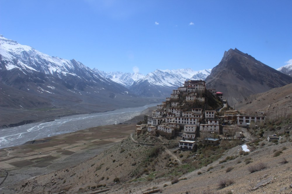 No better place to enlighten our mind isn't it? Key Monastery in the Spiti valley courtesy: Nikhil