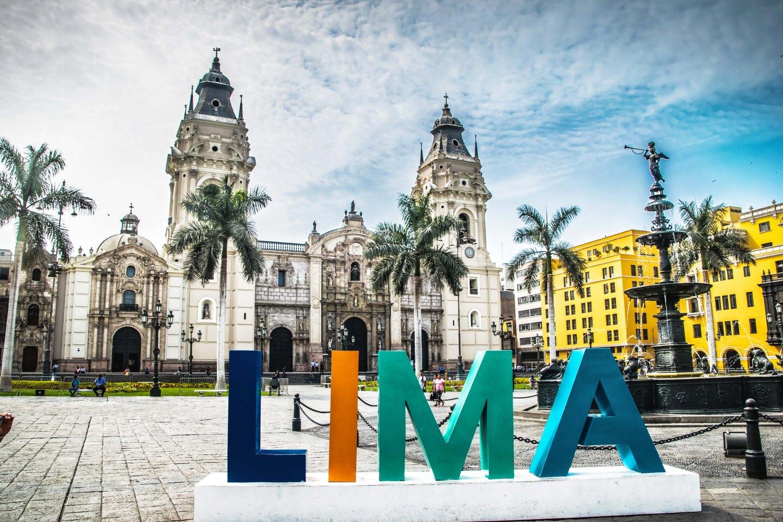 Plaza De Armas of Lima